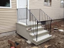 installation procedure for precast stairs means precast