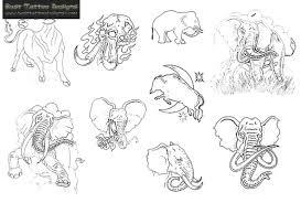 elephant tattoo samples tattoobite com