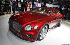 bentley sports car interior 2019 bentley continental gt flaunts stunning new stance cabin at iaa