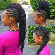 black braids hairstyle for sixty hairstyles for teens braided mohawk bun natural hair styles