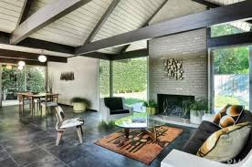 five mid century eichler houses for sale in socal right now