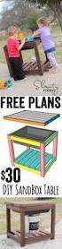 Free Diy Train Table Plans by Diy Sandbox Table Sandbox Play Table And Diy Outdoor Furniture
