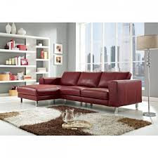Top Grain Leather Sectional Sofas Anika Top Grain Leather Sectional Sofa Creative