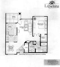 Condominium Plans Sun City Grand La Solana Condo Ventana Condominium Floor Plan