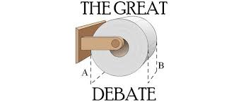 Toilet Paper Roll Meme - toilet paper over or under let s put an end to the debate