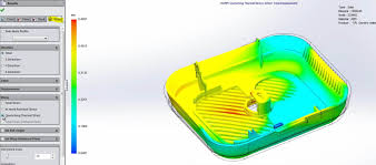 troubleshooting injection molding warpage with solidworks plastics