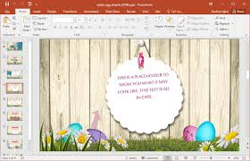 animated easter powerpoint template