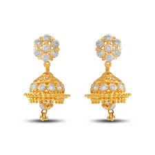 gold jhumka earrings design buy jhumka earrings designs online png gadgil jewellers