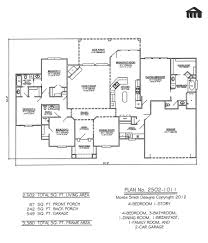 4 Bedroom Floor Plans For A House Metal Building Home Plans And Designs Bedroom 1 Story 3