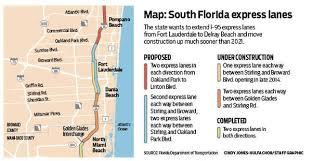 i 95 express lanes expanding tribunedigital sunsentinel