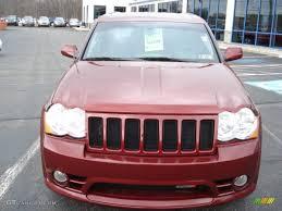 jeep srt 2008 2008 red rock crystal pearl jeep grand cherokee srt8 4x4 62159115