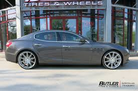 maserati vossen maserati ghibli with 22in vossen cv4 wheels exclusively from