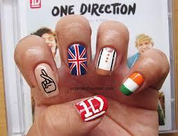 tutorial nail art one direction british nail art choice image nail art and nail design