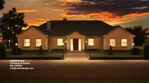 cadkel design 3d house bungalow