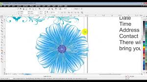 How To Make Invitation Cards How To Make Invitation Card In Corel Draw By Ganesh Jamkar Youtube