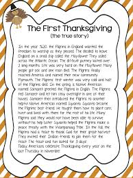 teachers can read aloud the thanksgiving story or