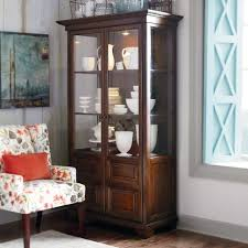 curio cabinet angora natural reclaimed wood curio cabinet glass