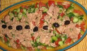 cuisine tunisien salade tunisienne