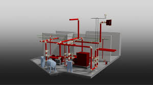 1000gpm fire pump room r17 3d view youtube