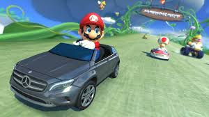 mario kart 8 getting a mercedes benz in japan via dlc nintendo