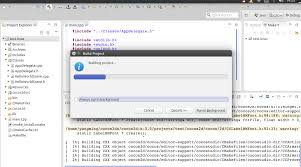 build a ubuntu14 04 eclipse cocos2d x3 0 official version of the