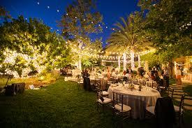 Ideas For Backyard Weddings Fabulous Backyard Wedding Decorations Mixed With Yellow Shade