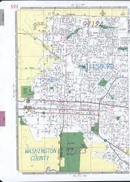 Hillsboro Oregon Map by Hillsboro Road Map