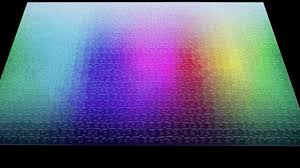 color spectrum puzzle this puzzle has every color you can possibly imagine rtm