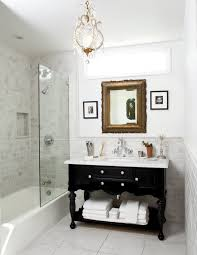bathroom vanities lowes powder room eclectic with medium wood door