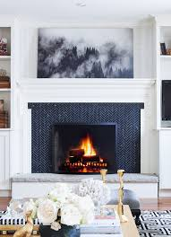 Fireplace Cover Up Best 25 Tile Around Fireplace Ideas On Pinterest Tiled