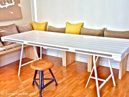 pallet dining room table diy