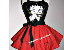 Betty Boop Halloween Costume Betty Boop Apron Etsy