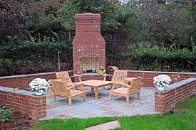 Fireplace Patio by Home Design Outside Brick Fireplace Ideas Midcentury Medium The
