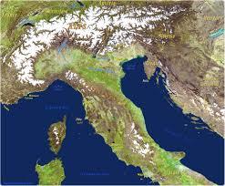 Genoa Italy Map by Italy Map Travel Europe