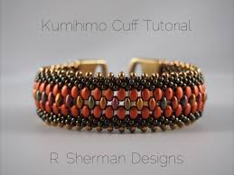 braided bead bracelet images Pdf tutorial kumihimo beaded cuff bracelet kumihimo pattern jpg