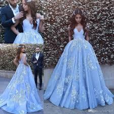 design dress pocket design lace applique gown prom dresses 2017 modest