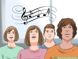 singing happy birthday how to sing happy birthday 13 steps with pictures wikihow