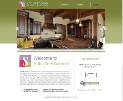 renovating sutcliffe kitchens u0027 website local marketing guelph