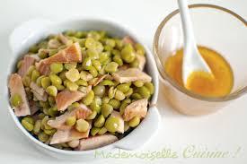 salade de pois cassés truite fumée et sauce au miel recette de