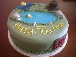 50th birthday fishing cake fancycakesbenidorm