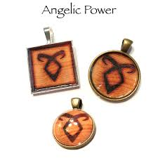 customized pendants shadowhunter angelic power rune customized pendants and