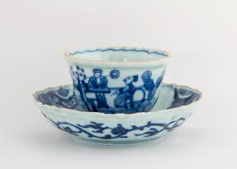 5 chinese porcelain cups u0026 saucer u2013 east india company at home
