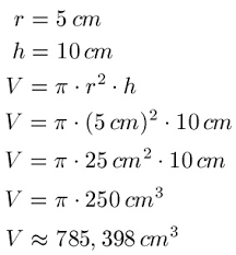 oberfläche zylinder geometrie volumen und oberfläche quader zylinder und kugel