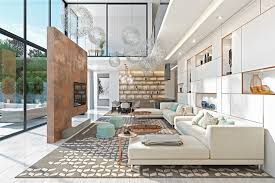 Decorating Ideas For High Ceiling Living Rooms Living Room Industrial Loft Colorful Heartbreaking High Ceiling
