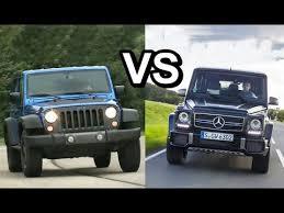 mercedes that looks like a jeep 2016 mercedes g glass vs 2016 jeep wrangler design