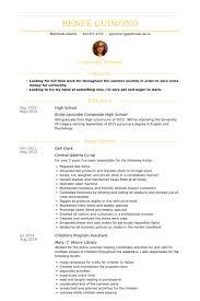 Bakery Clerk Job Description For Resume by Deli Clerk Resume Samples Visualcv Resume Samples Database