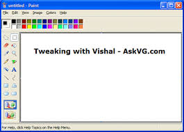 get windows vista look like mspaint in windows xp askvg