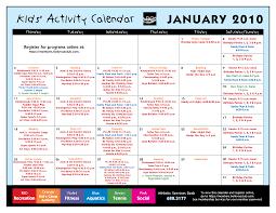 8 best images of kids activity calendar template april calendar