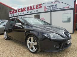 used 2008 seat leon 2 0 fr sport tdi 5d 168 bhp for sale in cambs