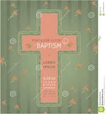 Baptism Invitation Cards Free Baptism Invitation Card Stock Vector Image 56837729
